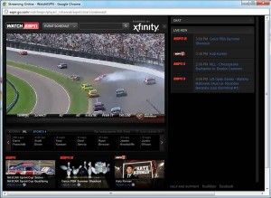WatchESPN: Watching NASCAR on ESPN online