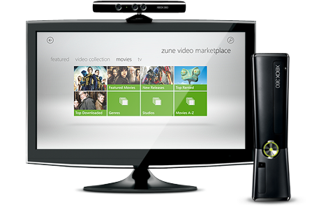 Zune on TV With the Xbox