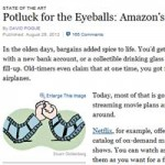 New York Times: David Pogue on Amazon Instant Video Vs. Netflix