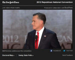 New York Times Broadcasts the RNC Live for Free
