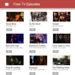 Screenshot of Free TV Episodes on Google Play