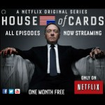 Ad for Free Trial with Launch of House of Cards